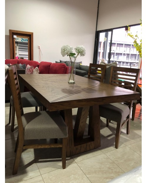COMEDOR CAN/ARGE 6 SILLAS